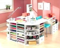 Small Craft Desk Craft Desk Storage Meddom Info