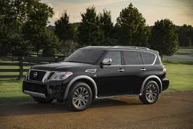 nissan armada how many seats 2018 nissan armada gets new tech priced from 45 600