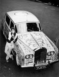 rolls royce inside limo john lennon had a baller rolls royce too bad he was a terrible