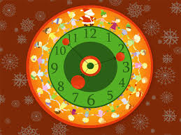 clock cool christmas clock ideas how many days until thanksgiving
