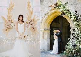 wedding backdrop trends ideas and inspiration for 2018 weddings my dress uk