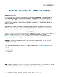 writing an introduction letter