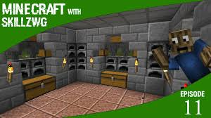 awesome furnace room minecraft with skillzwg episode 11 youtube