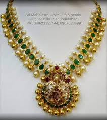antique emerald necklace images Antique emerald necklace jewellery designs jpg