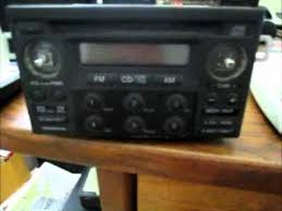 how to retrieve radio code for honda accord how to get a honda radio code for free