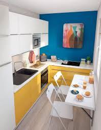 peinture cuisine jaune conseils peinture pour une cuisine haute en couleur