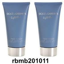 dolce and gabbana light blue 2 5 oz 2 x dolce gabbana light blue after shave balm new full size 2 5 oz