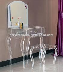 Lucite Vanity Table 2071507103 Lucite Dressing Table With Mirror Acrylic Dressing