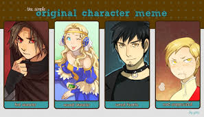Character Memes - original character meme by zombiesmile on deviantart
