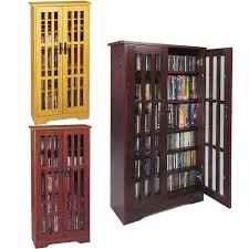 Cd Cabinet Interesting Cd Storage Cabinet Solid Wood Library 192 Dvd 456 Cd