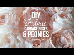 how to make realistic diy fabric roses and peony flowers fabric