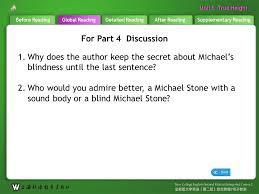 Blind Pole Vaulter Michael Stone Global Readingafter Readingsupplementary Readingbefore