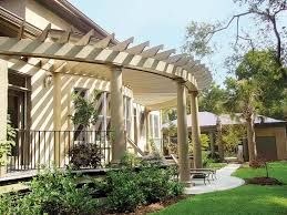 Attached Pergola Designs by Benefits Pergola Attached To Front Of House Garden Landscape