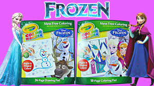 vibrant inspiration magic marker coloring book disney frozen