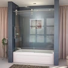 Shower Tub Door by Kohler Levity 59 In X 62 In Semi Frameless Sliding Tub Door In