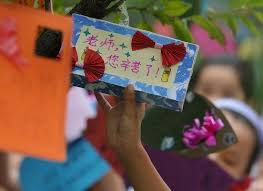 how do different countries celebrate teachers day all china