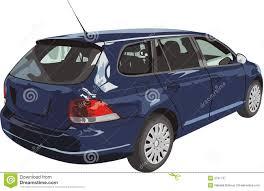 dark blue volkswagen car of dark blue color stock vector image of life industry 3791737