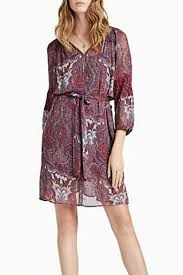 lucky brand red paisley dress from oregon by patina soul u2014 shoptiques