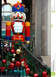 decorations and nutcracker royalty free stock images