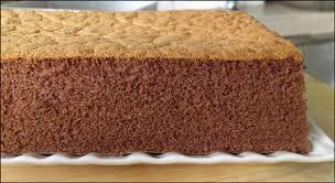 kitchentigress fluffy chocolate sponge cake 巧克力海绵蛋糕