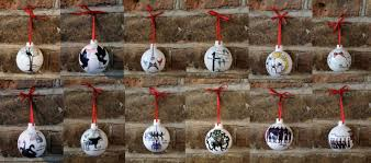 miss annabel dee 12 days of christmas limited edition baubles
