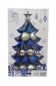 time shatterproof ornaments blue silver walmart canada