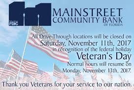 mainstreet community bank of florida home