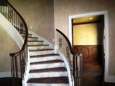 tiled wood stairs we have the wood stairs now need to do the