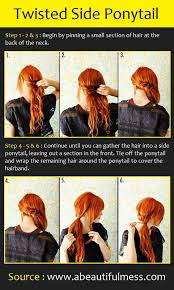 step by step twist hairstyles 20 beautiful hairstyles for long hair step by step pictures