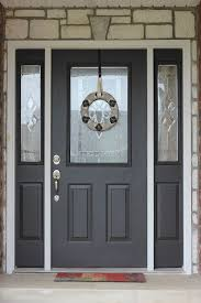 Painting Exterior Doors Ideas Best 25 Painting Front Doors Ideas On Pinterest Painting Doors