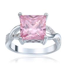 Pink Wedding Rings by Online Get Cheap Pink Engagement Ring Aliexpress Com