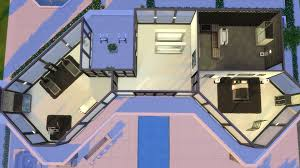 mod the sims ultra modern mansion no cc