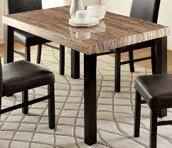 Granite Top Dining Table Set - dining tables overstock faux marble dining table set granite top