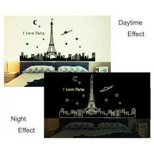 glow the dark wall stickers city themes london new york paris glow the dark wall stickers city themes paris