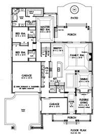 floor plans for narrow lots and narrow lot house plans adhome