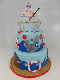 Nautical Baby Shower Cake Ideas Nautical Baby Shower Cake 1242 818 363 9825 Www Asweetde U2026 Flickr
