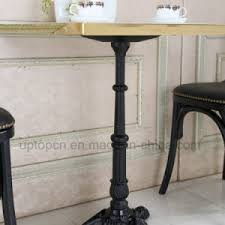 round cast iron table china antique style black cast iron cafe round dining table sp