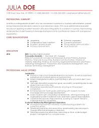 Resume Sample Business Administration by Professional Entry Level Administrative Specialist Templates To