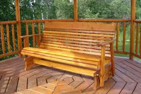 Gliding Adirondack Chairs Cedar Swing Outdoor Glider Cedar Outdoor Furniture