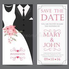 to groom wedding card and groom wedding invitation card stock vector