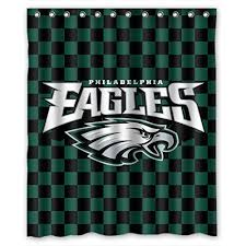 Fashion Shower Curtains Eagles Shower Curtains Shower Curtains Outlet