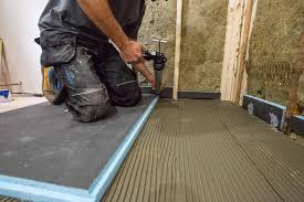 Laminate Flooring For Bathrooms Waterproof Wedi Waterproof Shower System A Concord Carpenter