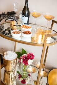 the perfect nye bar cart u0026 cocktail my style vita