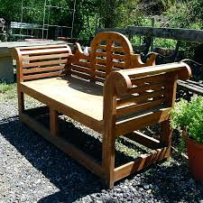 Building Wooden Garden Bench by Simple Wooden Garden Bench Plans Outdoor Wood Bench With Storage
