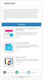 Responsive Email Template 6 free responsive marketo email templates