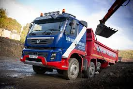 2011 volvo truck volvo trucks first fmx tipper in south wales joins bob plant