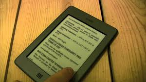 kindle touch ghosting refresh rate ghost characters