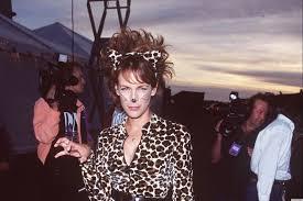 90s halloween costumes jamie lee curtis is the cat u0027s meow in her u002790s halloween costume