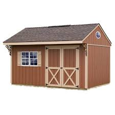 best barns northwood 10 ft x 14 ft wood storage shed kit