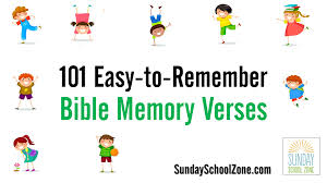 101 easy bible memory verses for children children u0027s bible